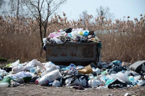 overflow trashcan