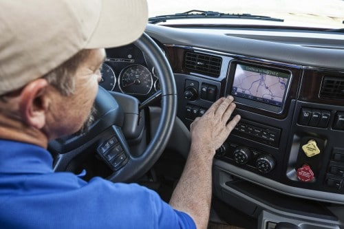 truck driver tracking