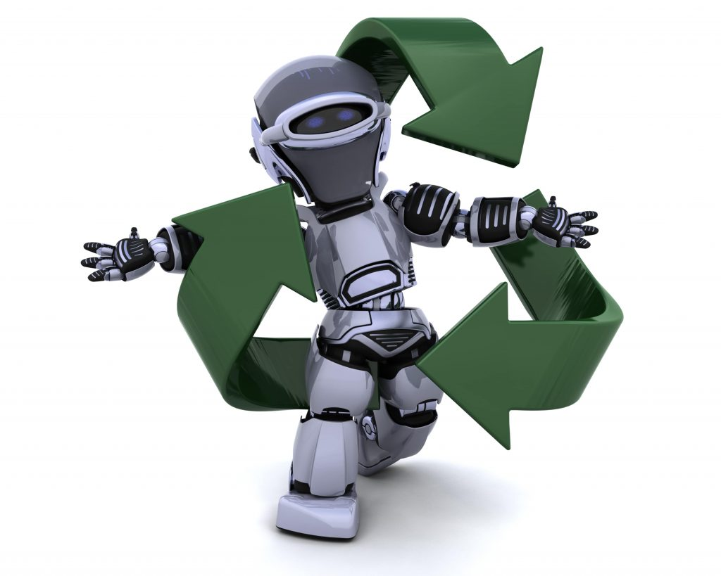Throwing away used electronics often avoids the fact that these goods can be recycled