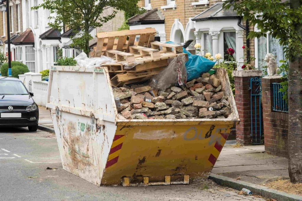 What is skip hire?