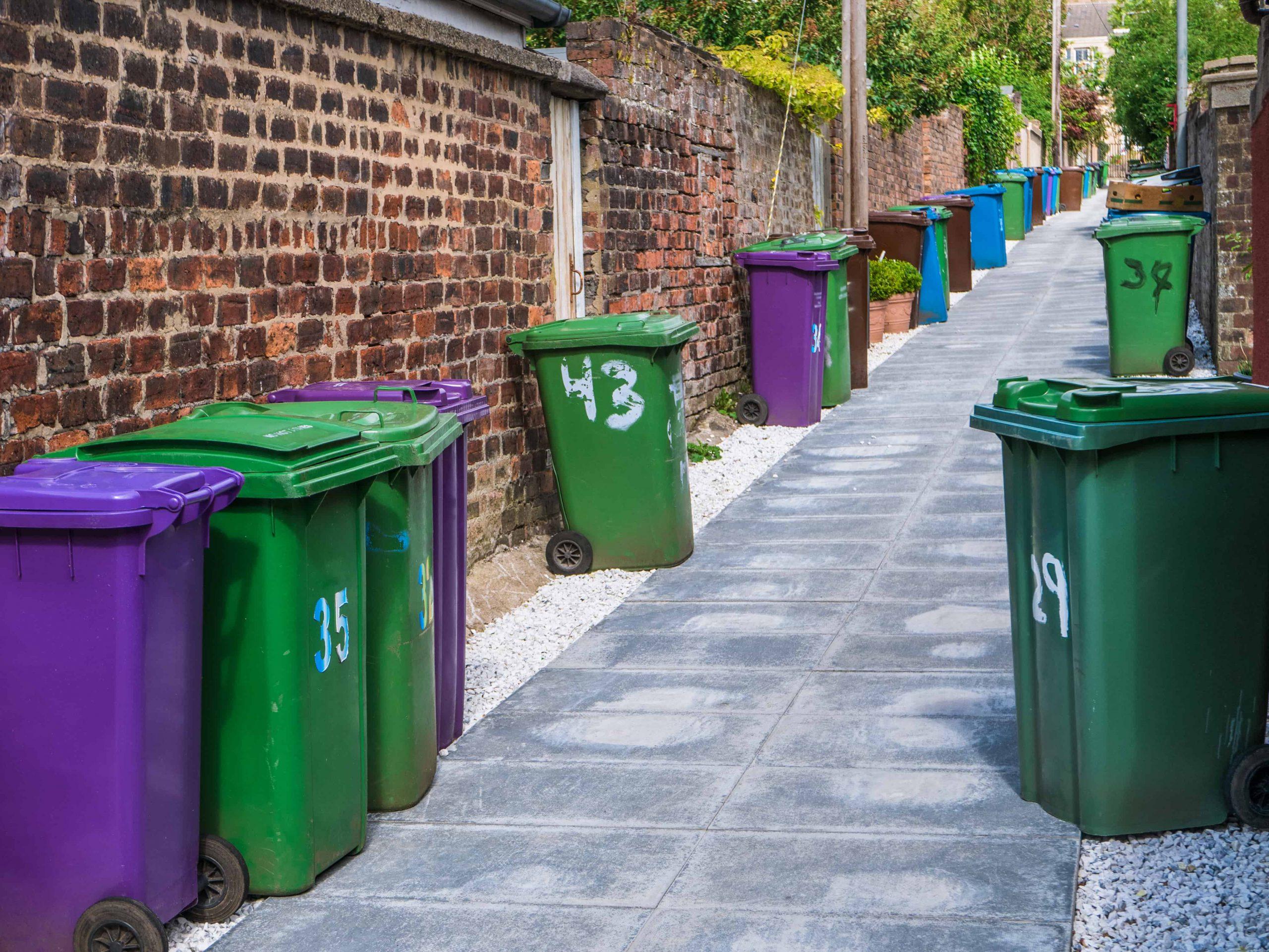 Bin Sensors for Waste Management